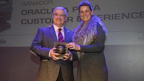 Foto de Oracle IA para CX, primer puesto en la categoría de Customer Experience en los Premios ComunicacionesHoy