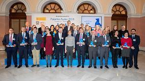 Foto de 36 ayuntamientos reciben las Pajaritas Azules del reciclaje de papel y cartón