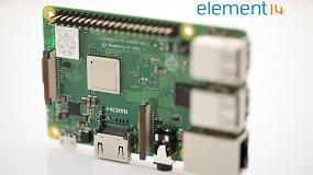 Foto de Farnell element14 anuncia el lanzamiento de la nueva Raspberry Pi 3 Modelo B+