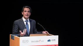 Foto de Elías Unzueta expone la estrategia de digitalización Petronor 4.0