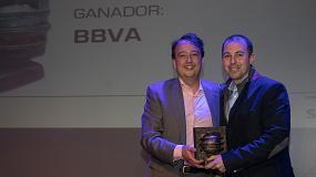 Foto de BBVA, ganador en la categoría de Banca y Seguros de los Premios ComunicacionesHoy
