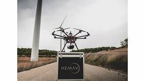 Foto de La española Hemav, cuarta operadora mundial de drones y primera en agricultura
