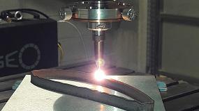 Foto de Impresión 3D de componentes metálicos mediante láser cladding en hilo