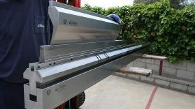 Foto de Metalmaq fabrica un portamatriz especial neumático para plegadora