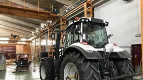 Foto de 2018, año clave para la Estación de Mecánica Agrícola