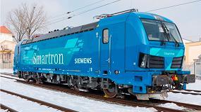 Foto de Siemens lanza la nueva locomotora Smartron para el transporte de mercancías en Alemania