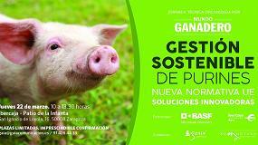 Foto de BASF patrocina una jornada en Zaragoza sobre 'Gestión Sostenible de Purines'