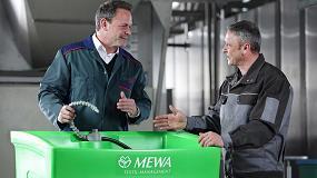 Foto de El lavapiezas de MEWA siempre listo gracias a su servicio de mantenimiento y reparación periódica