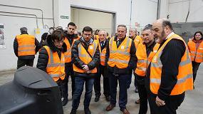 Picture of El vicepresidente Laparra inaugura las nuevas instalaciones de la planta de reciclaje de Aspace en Aoiz
