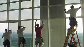 Foto de Láminas de seguridad y protección de 3M para ventanas en el sector hotelero