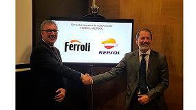 Foto de Ferroli y Repsol firman un acuerdo de colaboración para impulsar el consumo de energía sostenible