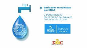 Foto de Las entidades acreditadas por Enac son garantía para la reutilización del agua en la economía circular