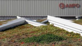 Foto de Knauf Insulation instala una cubierta verde de 6.800m2 en Guipúzcoa