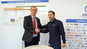 Foto de Asepal y PRL Bomberos firman un acuerdo de colaboración para promover el conocimiento y el uso adecuado de EPI dentro del colectivo de bomberos