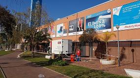 Foto de Lotum impermeabiliza con poliurea la cubierta del centro comercial Barnasud