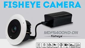 Foto de Vista panorámica de 360° discreta con la cámara IP MDF5400HD-DN Fisheye de Dallmeier