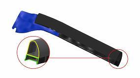 Fotografia de Nueva tecnología de TPE para sobre inyectar en los extremos y esquinas de los perfiles de EPDM