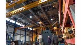 Foto de Puentes grúa Abus para la nueva planta de producción del fabricante de metales Konepaja Enne Oy