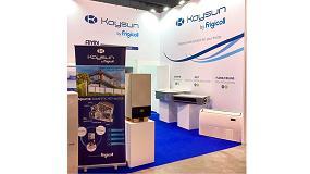 Foto de Frigicoll ha participado en la feria internacional Mostra Convegno presentando las últimas novedades de su marca de climatización Kaysun