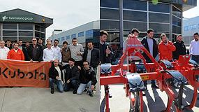 Foto de Curso de implementos Kubota en las instalaciones de Kverneland en Barcelona