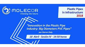 Foto de Molecor, presente en Plastic Pipes in Infrastructure