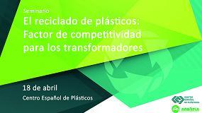 Foto de El CEP organiza el seminario 'El reciclaje de plásticos: Factor de competitividad para los transformadores'