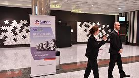 Foto de Allison Transmission, patrocinador por cuarto año consecutivo de los congresos de Aecoc