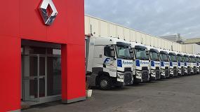 Foto de El Grupo Fertrans adquiere 10 Renault Trucks para su centro de Barcelona