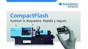 Foto de Sumitomo Demag sustituye disqueteras por Compact Flash en sus inyectoras