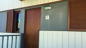 Foto de ISO-Bloco One e ISO-Connect Vario, de ISO-Chemie, en la primera vivienda industrializada certificada Passivhaus de España