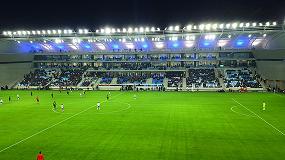 Foto de Nueva luminaria Omniblast de Schréder: mayor confort visual y eficiencia en instalaciones deportivas