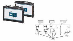 Foto de Tableta PC universal para configurar equipos para en zonas con y sin peligro de explosión