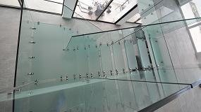 Foto de Vidrios de Cerviglas en una escalera de vidrio en Tenerife