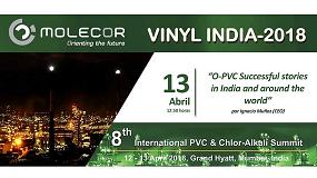 Foto de Molecor participará en Vinyl India 2018