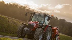 Foto de Los MF 5700 Global Series de 4 cilindros incorporan la transmisión Dyna-4