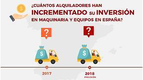 Foto de Aseamac anima a los alquiladores a participar en el Estudio sobre el alquiler de maquinaria y equipos en España 2018