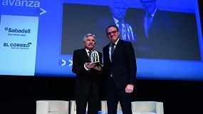 Foto de Ega Master, Empresa del Año en los premios Euskadi Avanza