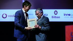 Foto de Ega Master recibie el premio Vodafone a la Innovación Industrial