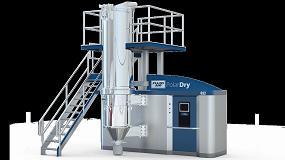 Foto de Spraying Systems muestra en Hispack el secador por aspersión electrostático PolarDry