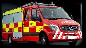 Foto de Los cierres electrónicos Southco aportan valor añadido a los vehículos de bomberos