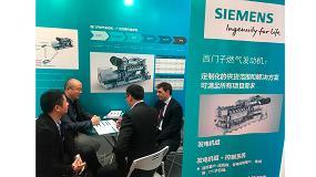 Fotografia de Siemens presenta sus nuevos motores de gas capaces de utilizar distintos combustibles
