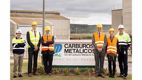 Foto de La directora general de Industria Àngels Chacón visita la planta de Carburos Metálicos en Tarragona
