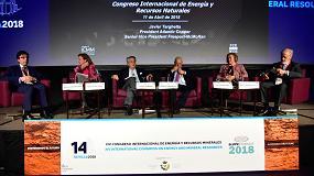 Foto de Los retos de la minería y la metalurgia y el aprovechamiento del agua centran la segunda sesión del XIV Congreso Internacional de Energía y Recursos Minerales