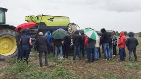 Foto de AG Group y Sky Agriculture demuestran los beneficios de la Agricultura de Conservación