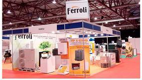 Foto de Ferroli presente en la II Feria de la Energía de Galicia