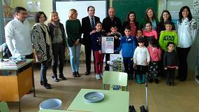 Picture of Entrega del premio 'De camino al cole, ponme pilas'