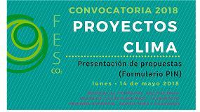 Foto de Abierta la Convocatoria 2018 de Proyectos Clima