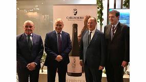 Fotografia de Bodega Carlos Moro presenta en Alimentaria su vino tinto CM Prestigio
