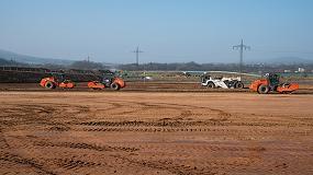 Foto de Las máquinas del Wirtgen Group preparan el suelo para la nueva fábrica de Benninghoven