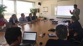 Fotografia de Afeb celebra una reunión de su grupo de trabajo 'Dirección Comercial Barcelona'